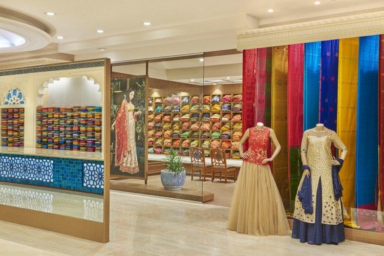 Textile Shop Interior